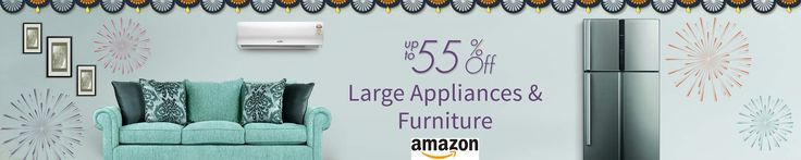 Upto 55% Off On Large Appliances & Furniture... Visit The Below Link For More http://goosedeals.com/home/details/amazon/90547.html
