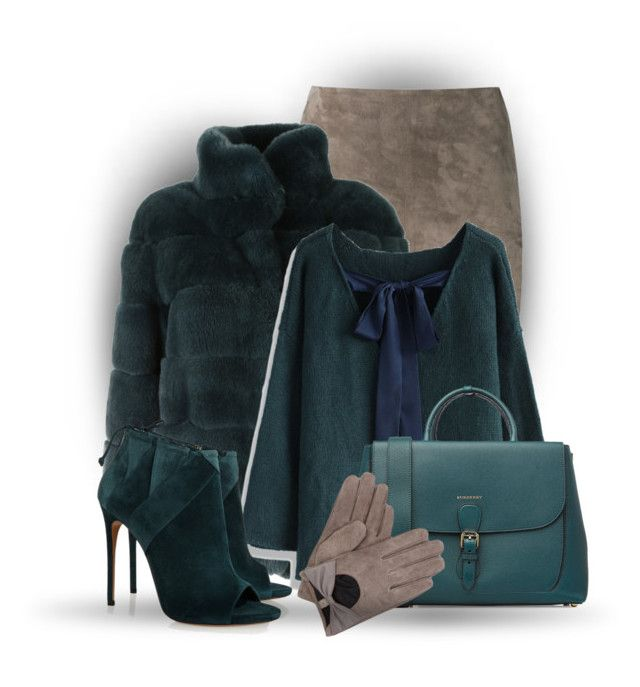 Teal by bliznec on Polyvore featuring polyvore, fashion, style, Chicwish, Simonetta Ravizza, Brunello Cucinelli, Casadei and Burberry