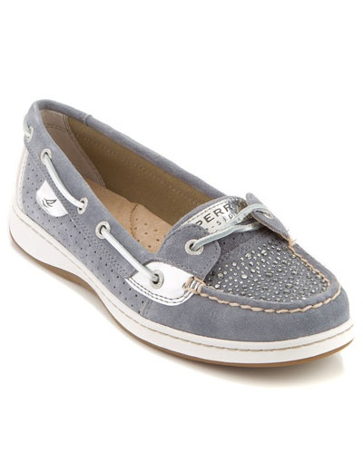 Sperry Top-Sider 'Anglefish' Suede Boat Shoe
