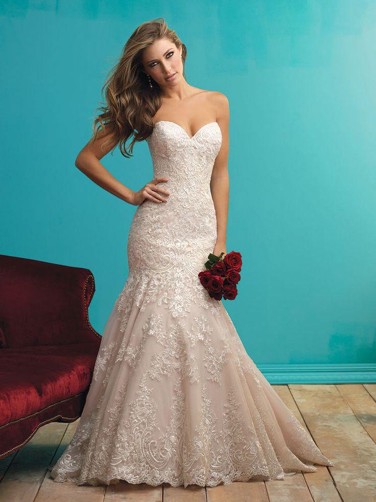 125 best Wedding Dress images on Pinterest | Wedding dressses ...