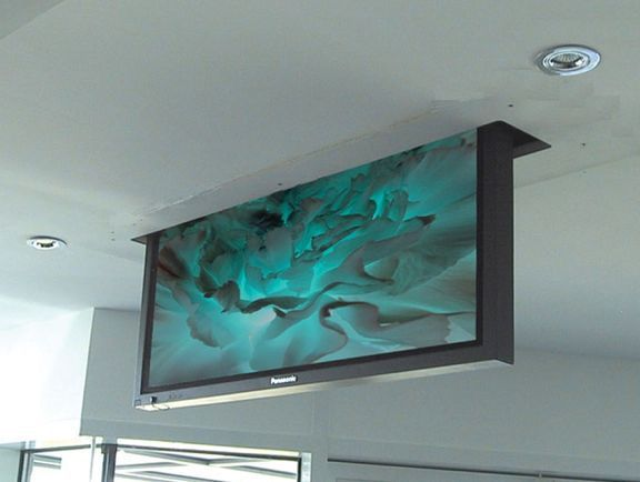 50 Quot Drop Down Tv Lift Made By Firgelli Auto Ebay Tv Lift Mechanism Tv In Bedroom Tv Furniture