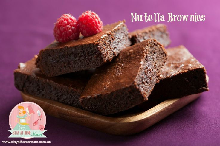 Nutella Brownies | Stay at Home Mum