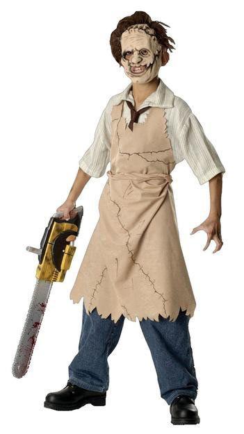 Disfraz niño Caracuero. La Matanza de Texas  Ahora tienes la oportunidad de convertirte en uno de los grandes asesinos de la película La Matanza de Texas con este estupendo disfraz.