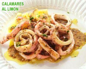 Calamares al limón, una delicia !