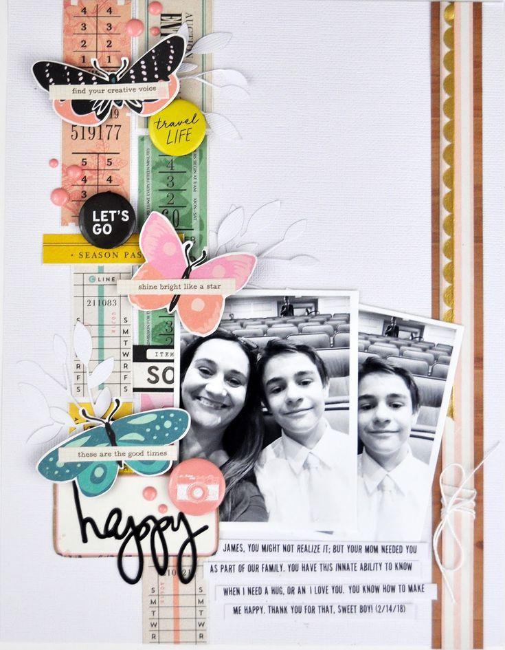 Memories Made #61 Scrapbooking Process Video 6x8 Scrapbook
