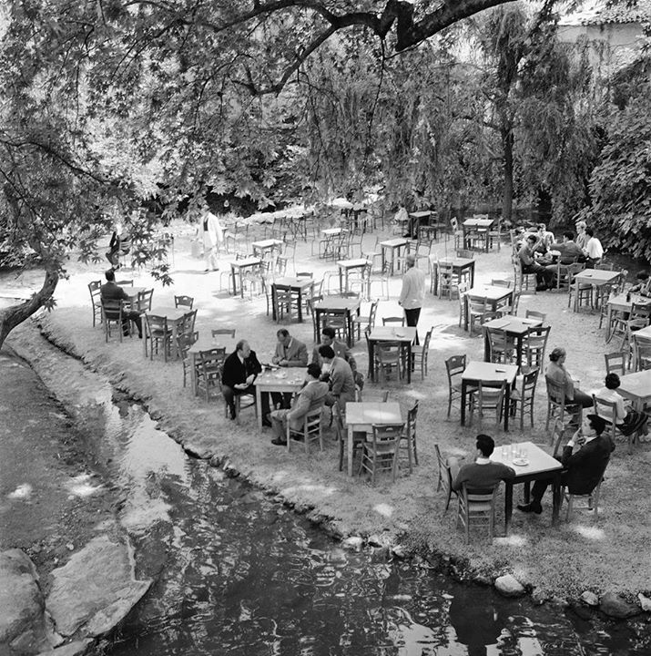 1960 - Livadia town in central Greece