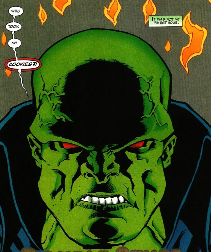 Martian Manhunter: Mars Needs Cookies