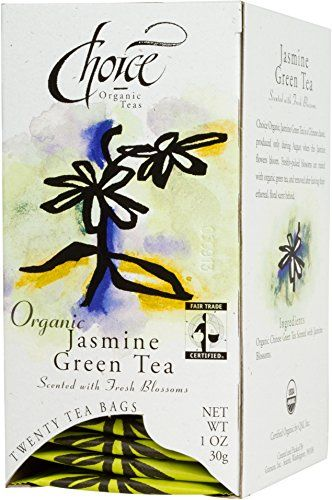 Choice Organic Jasmine Green Tea 20 Count Box -- Check out this great product. (This is an affiliate link and I receive a commission for the sales)
