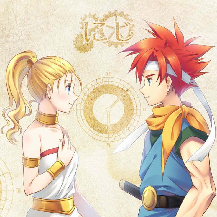 Chrono Trigger - Crono and Nadia