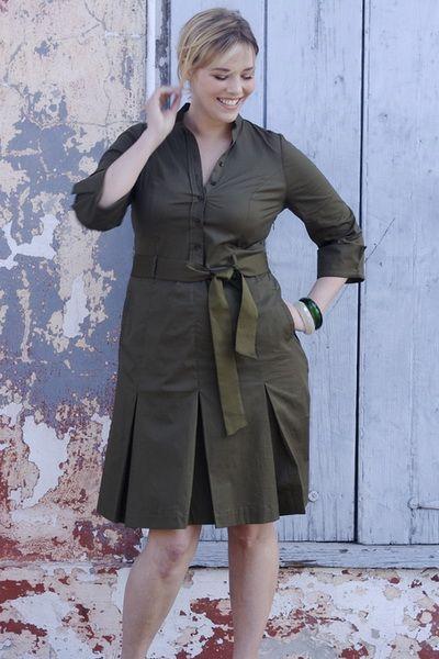 Платье сафари  для ХL