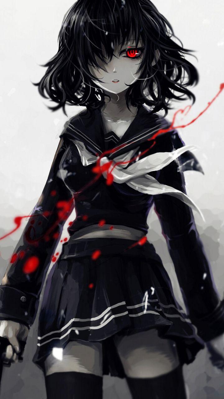 Dark Anime Girl Wallpaper : anime, wallpaper, Anime, Wallpaper