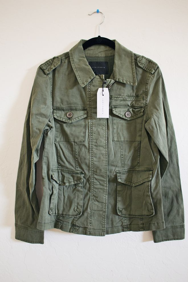 Sanctuary Judson Utility Jacket - this would be a huge splurge, but I would like to at least try this for Spring!