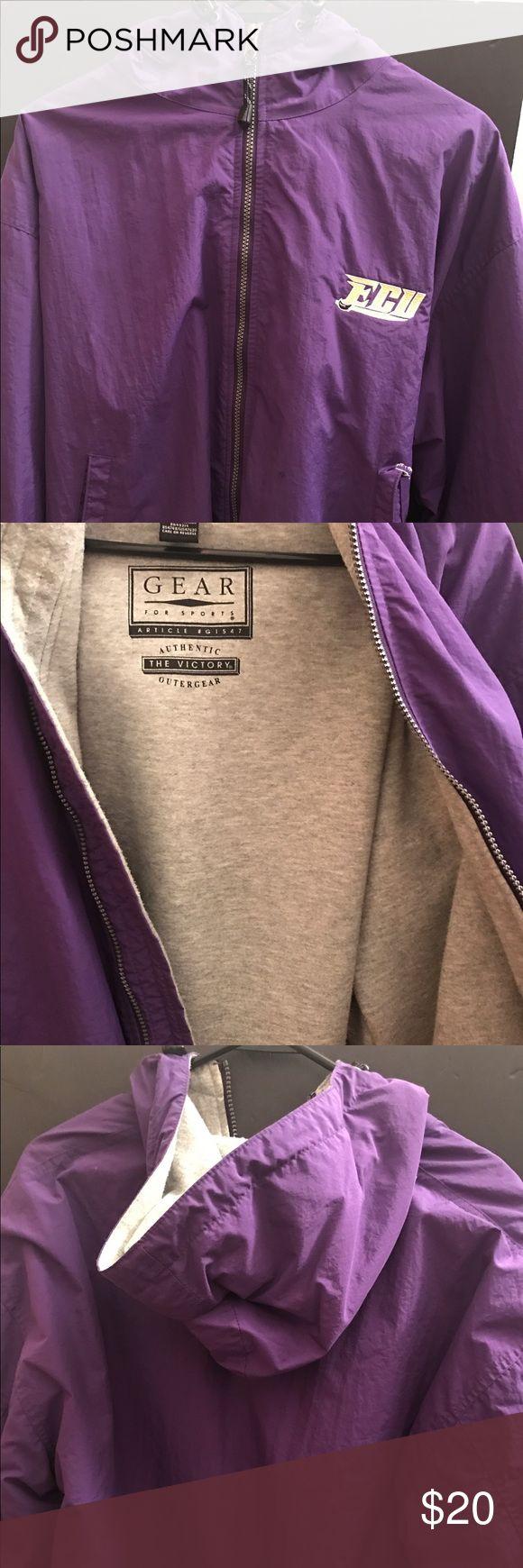 Heavy gear East Carolina University Jacket Purple ECU heavy gear jacket with grey lining. Size Small! Never worn! Jackets & Coats