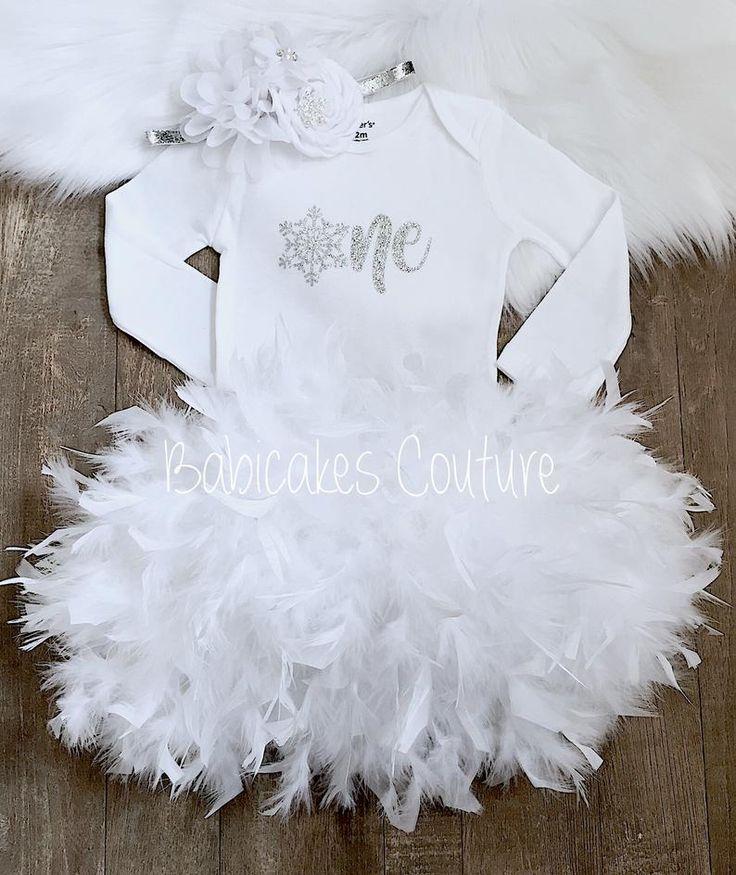 Winter Onederland 1st Birthday, 1st Birthday Girl Outfit