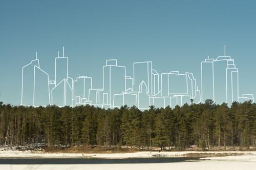 present and the future. nature vs. urbanism.