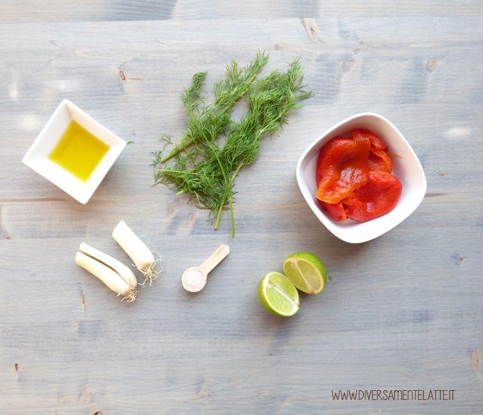 Buongiorno! Oggi vi proponiamo una salsa ai peperoni arrostiti e aneto: è una salsa facile e veloce da preparare e molto versatile in cucina!