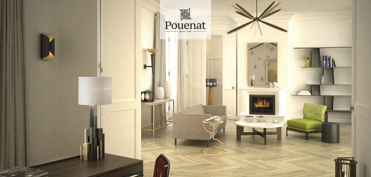 Iron craftsmen furnitures layout renowned designers POUENAT