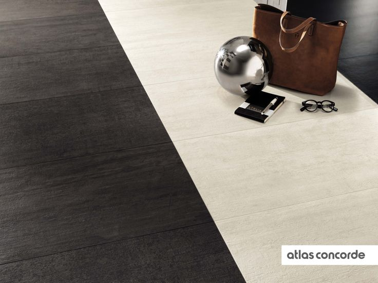 #MARK gypsum and graphite | #Floor design | #AtlasConcorde | #Tiles | #Ceramic | #PorcelainTiles