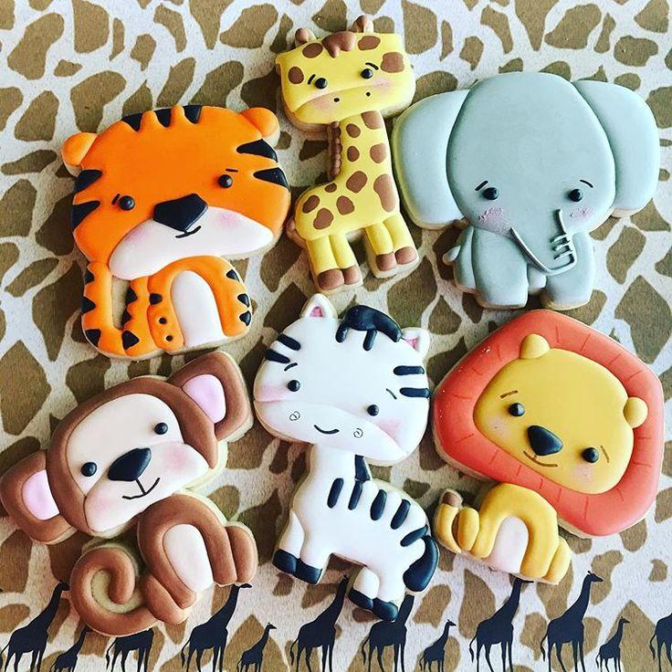 Pin on Cookies Animals Zoo/Safari