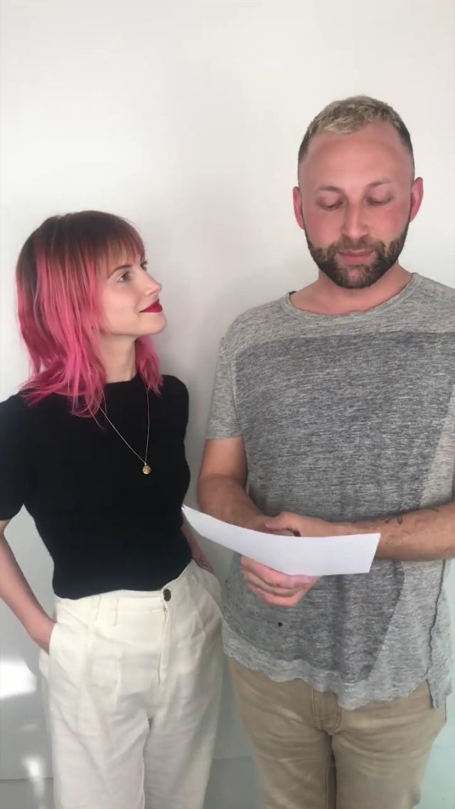 Hayley Williams 2019 March 27 Pink Hair Hayley Williams Paramore Hayley