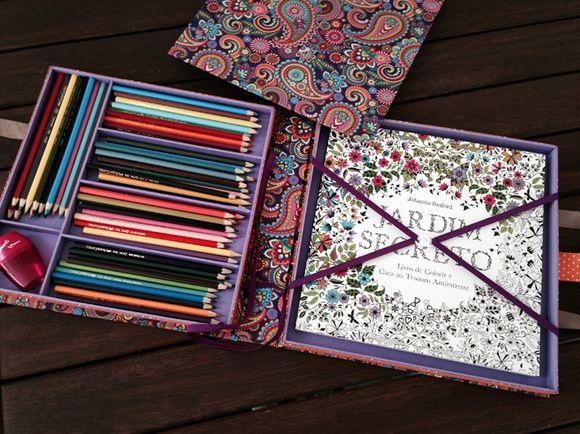 Maleta Pocket Colorir
