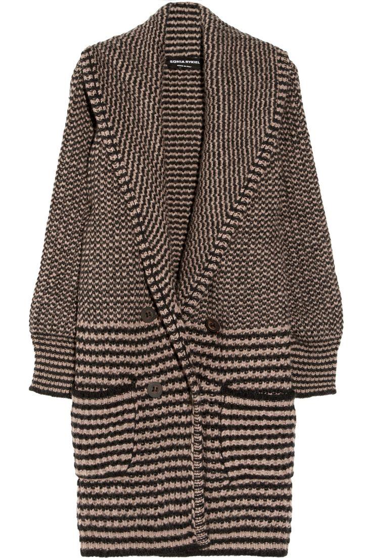 SONIA RYKIEL Alpaca-blend chunky-knit cardigan