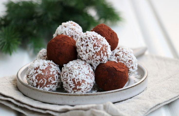 Sjokoladekuler med kokos