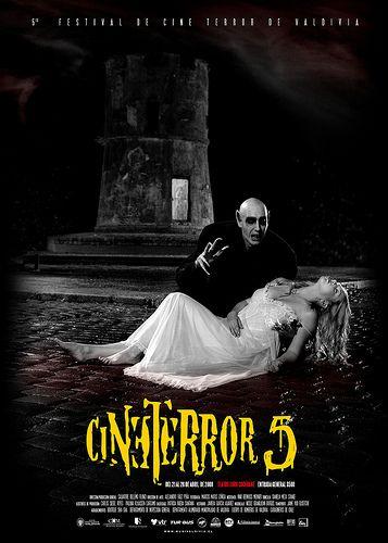 Afiche Festival de Cine Terror de Valdivia 2008