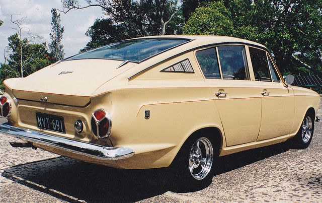 1966 Ford Cortina Fastback, never imported into the U.S.