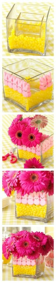 10 Great Ideas for Easter Peeps- a peeps centerpiece!
