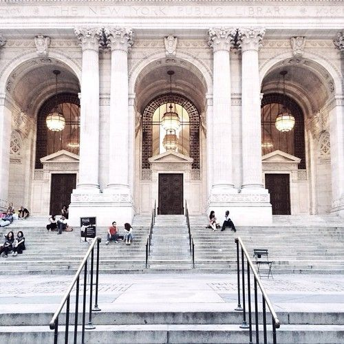 New York Public Library | pinterest: @Blancazh