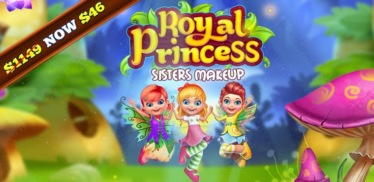 #BuySourcecode  Are you looking for perfect #MakeoverGame? This is an offer you wouldn't want to miss: Royal Princess Sisters Makeup #GameSourcecode 96% OFF – Get it & build your own #game.