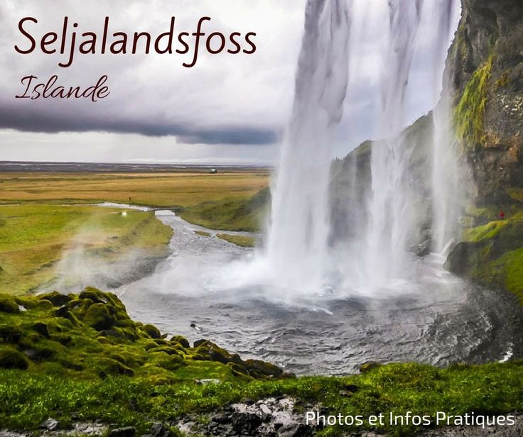 Que voir en Islande du sud - Cascade Seljalandsfoss Islande