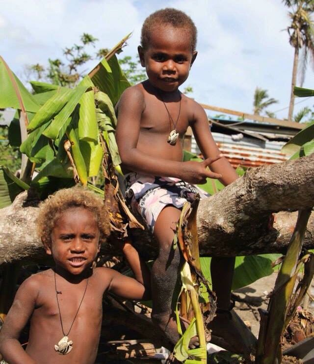 The beautiful kids in Vanuatu!  Love their necklaces. www.theturtleproject.com.au