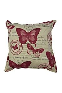BUTTERFLY 70X70CM SCATTER CUSHION