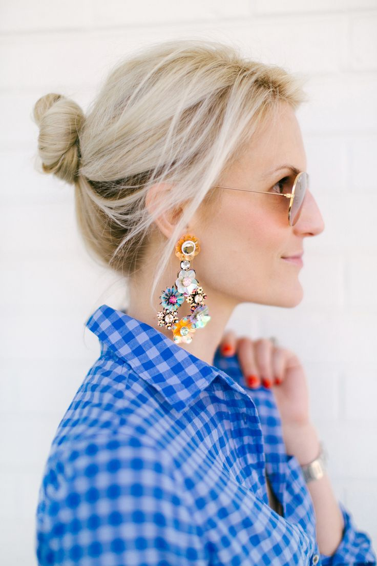 J.Crew earrings // Luella & June