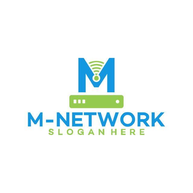 م الأولي شعار الشبكة م استضافة قالب تصاميم الشعار Logo Design Template Logo Design Design Template