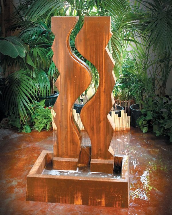 Vertical Canyon Garden Water Fountain Garden Water