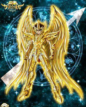 Aioros du sagitaire armure divine