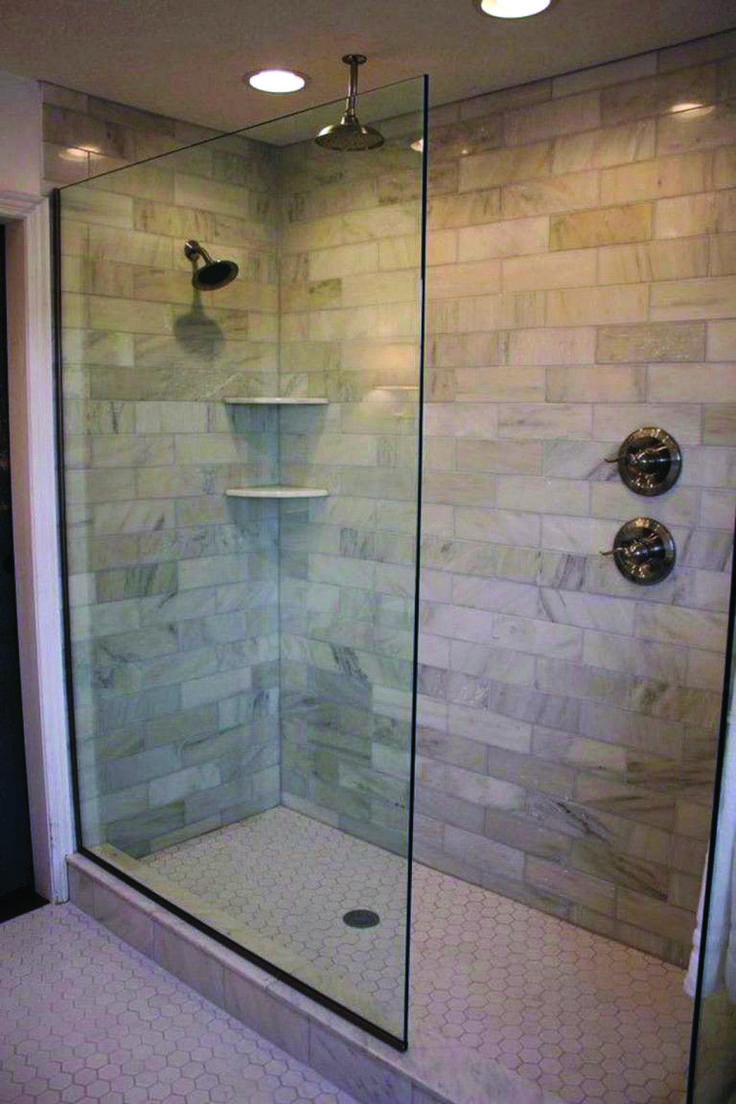 19 Wonderful Ideas for Showers Without Doors | Small ...