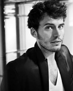 Sam Claflin. I admit he does nothing for me as Finnick in the Hunger Games films... But he looks completely darling in Love, Rosie with Lily Collins and I loved him in Snow White and the Huntsman!