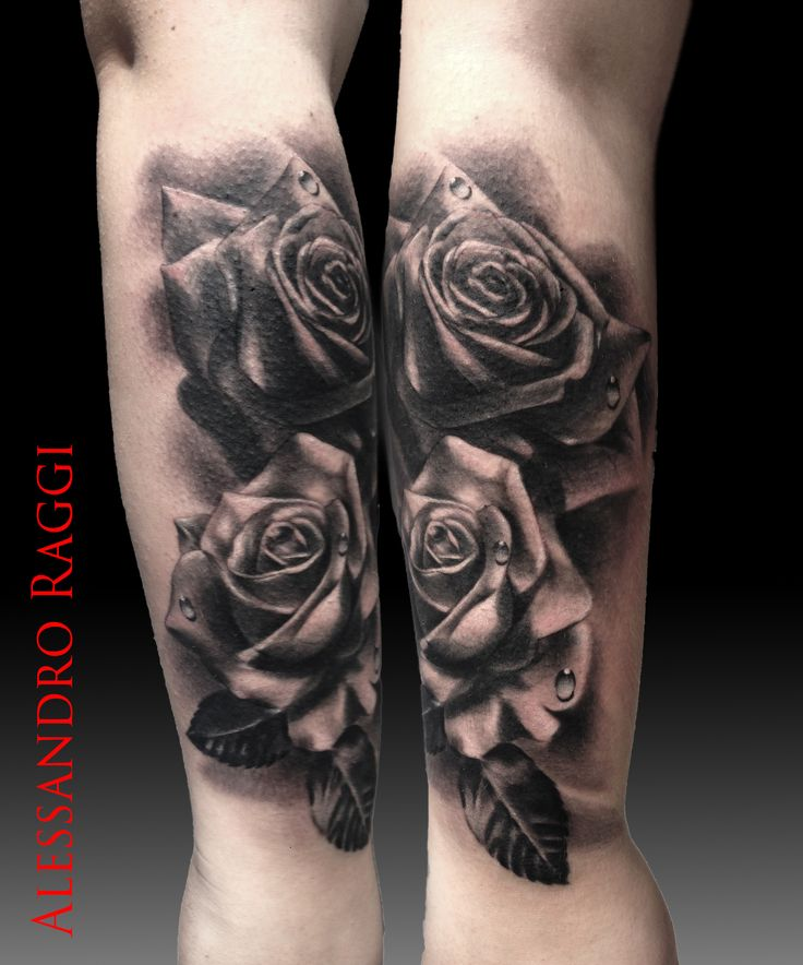 Rose, realistic, 3D by Alessandro Raggi