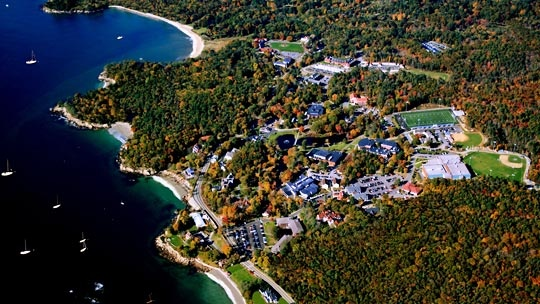 View of Endicott College and the surrounding Gold Coast in Beverly, Massachusetts! #erinscv #erinwesterman #endicottcollege