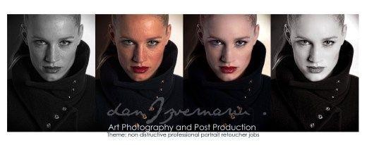 Title: SAMPLE :Professional portrait corrections Model: sample Photo by: sample  Photoshop post prod.CS 6 by : danIzvernariu ©2014 ʘ 6014 N...