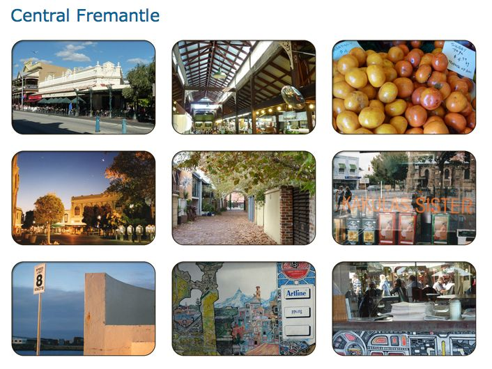 Fremantle: A Glimpse of Central Fremantle, Western Australia.