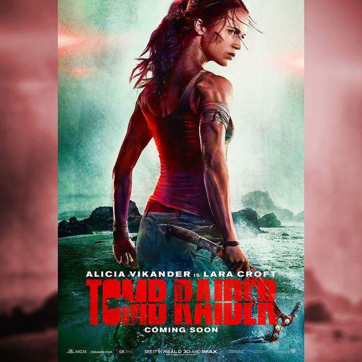 Alicia Vikander è Lara Croft nel nuovo poster di Tomb Raider.  #TombRaider #TombRaiderMovie #LaraCroft #AliciaVikander #RoarUthaug #MGM #WarnerBros #movies #theatre #movie #film #actress #cinema #instamovies #photooftheday #instagood