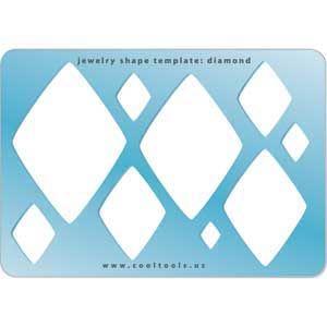 Jewelry Shape Template - Diamond