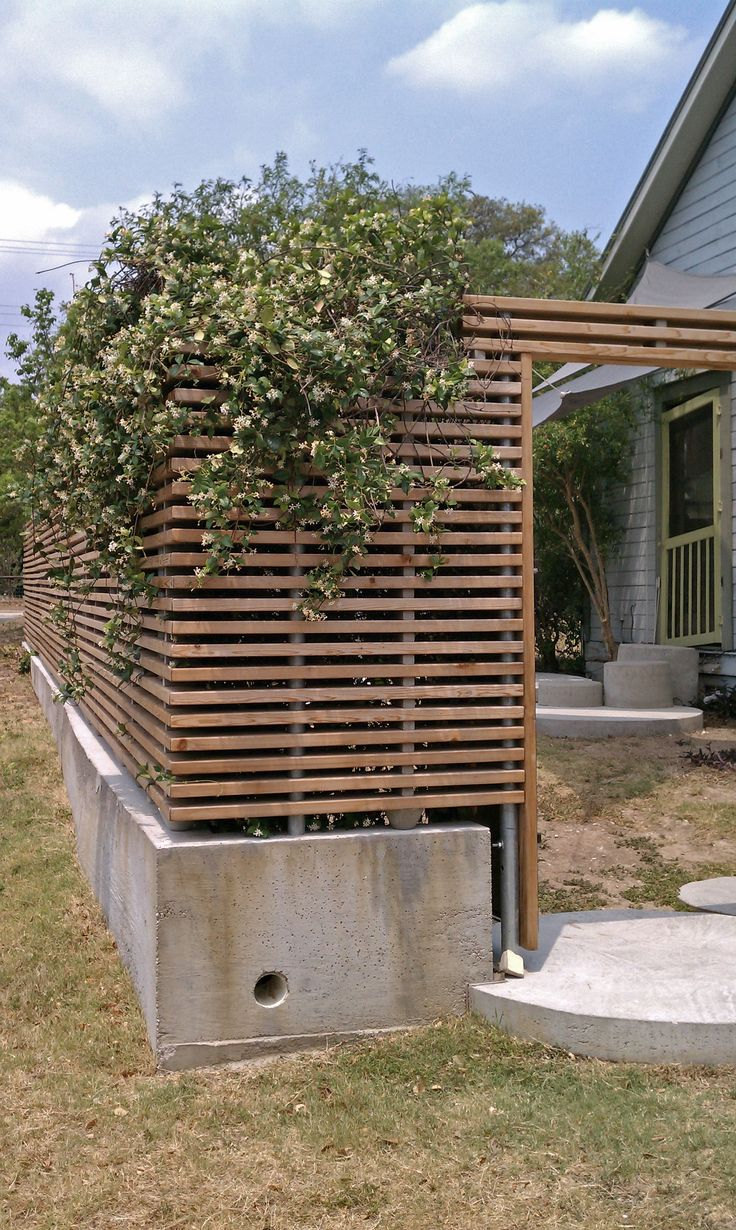 Slats with metal supports