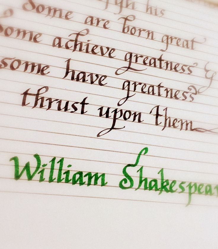 Shakespeare Fever.