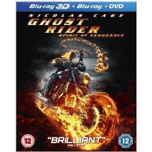 Ghost Rider: Spirit of Vengeance (Blu-ray 3D + Blu-ray + DVD)